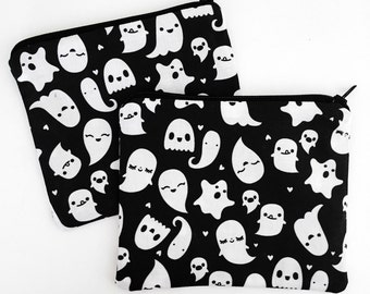 Ghost Collection Zipper Pouch - Coin Purse