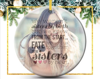 Ornaments Personalized,  Ornament Personalized, Best Friend Ornament Personalized Christmas Ornament Personalized for Friend // C-P02-OR XX9