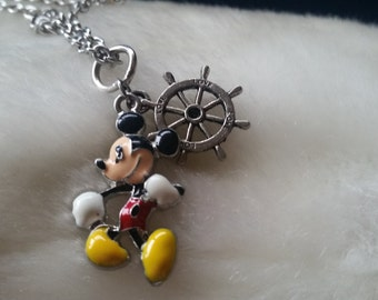 Steamboat Willy Mickey Theme necklace