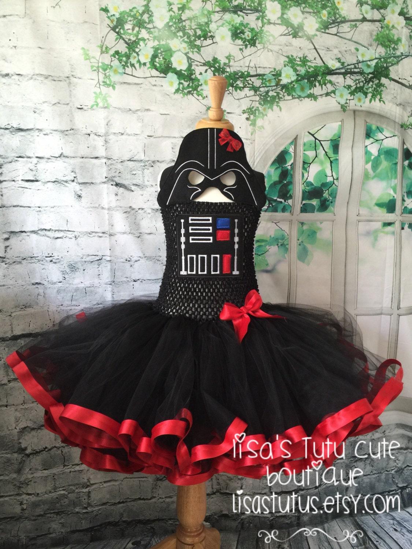 Darth Vader Tutu Kleid Darth Vader Tutu Darth Vader Kostüm