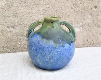 Vintage Français poterie, Articles ironstone, Français céramique, poterie bleue, poterie d'art nouveau