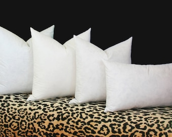 Down alternative pillow inserts 100% cotton cover 24x24 pillow insert 26x26 pillow insert 28x28 pillow insert 30x30 pillow insert Euro form