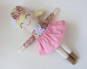 Grace - Handmade Doll