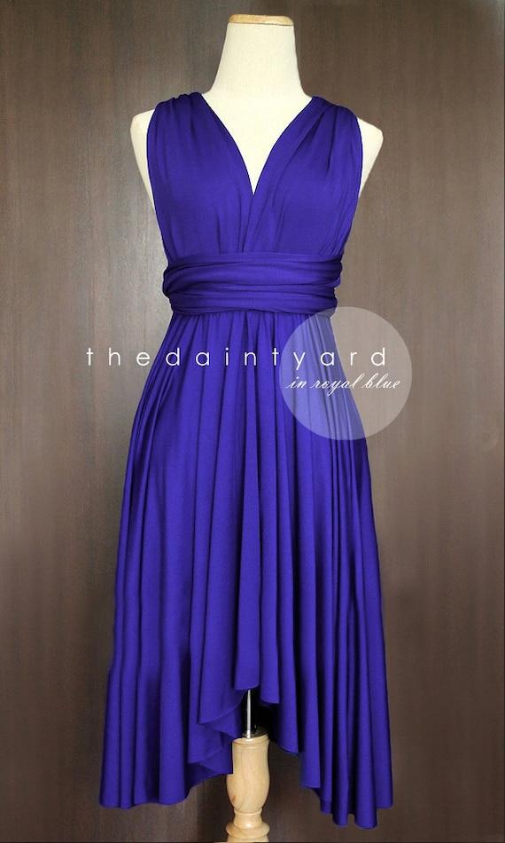 Royal Blue Bridesmaid Dress Convertible Dress Infinity Dress
