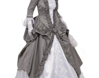The Angelica Victorian Ball Gown