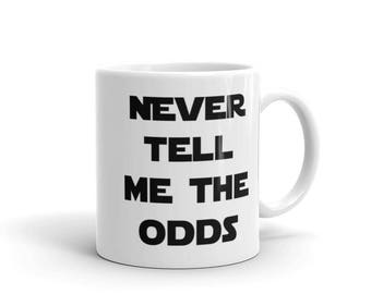 Star Wars: Never Tell Me The Odds Mug