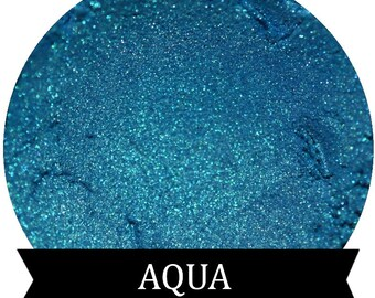AQUA Blue teal Eyeshadow