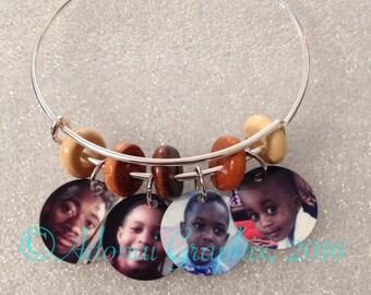 Photograph Charm Bracelets