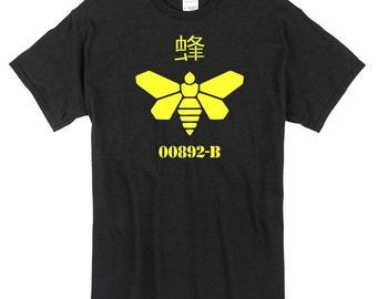 Golden Moth Breaking Bad T-Shirt black 100% cotton walter white