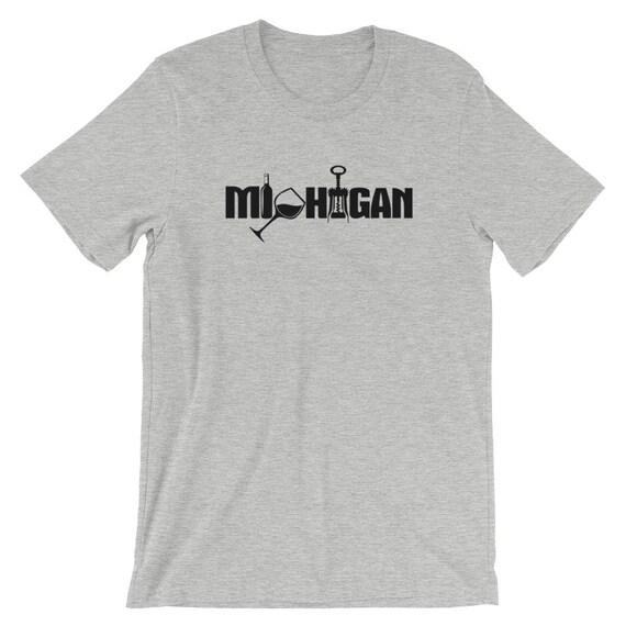 Michigan Wine Short-Sleeve Unisex T-Shirt