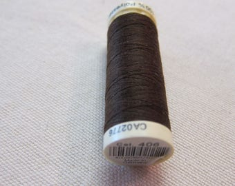 Sewing thread Brown n 406 Gütermann 100% polyester