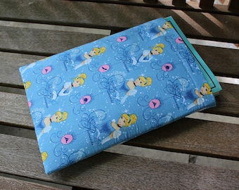 Cinderella Disney Large 9x12 inch Foam Padded Fully Lined Book Sleeve Tablet Case