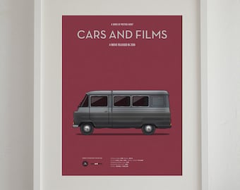 The Lives of the Others van movie poster, art print A3 Cars And Films, home decor prints, illustration print