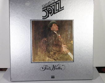 Fats Waller Jazz music 33rpm record set of 3 Time Life 1980 mint