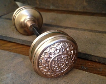 Antique Decorative Brass doorknob set
