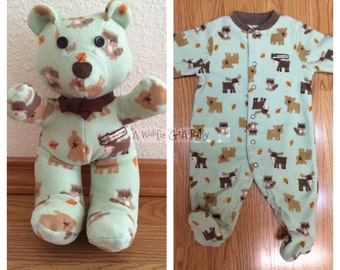 Custom Keepsake Bear for Erin Colacurcio