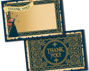 The Brave Thank You Cards, The Brave Birthday, Custom thank you cards, Thank you card, Thank you cards, The Brave Party, The Brave Thank You