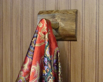 Rustic Shower Bath Towel/Robe Hook (Flat Back)