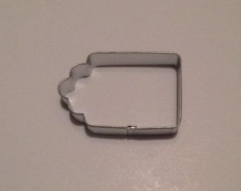 "3"" Gift Tag Cookie Cutter"