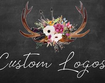 Custom Logos, Graphic Design, I make what you want