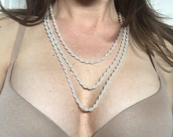Reversible Locking Beaded BDSM Day Collar