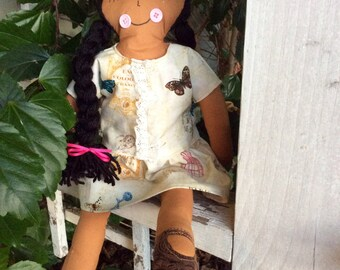 Babydoll, toy doll, girl doll, custom doll, dressup doll, changeable doll, handmade doll, baby safe doll, baby shower gift, birthday present