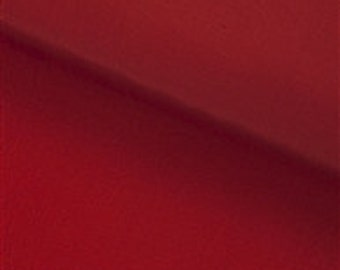 1 meter Claret Red Silk Lining Fabric , width 27,5""