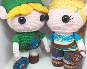 Amigurumi Zelda Pattern : Link from the legend of zelda crochet pattern english dutch