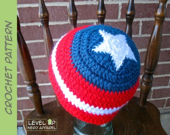 First Soldier beanie CROCHET PATTERN || 6 sizes || Instant Download