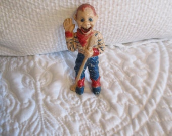 Vintage circa 1950's Howdy Doody Finger Puppet