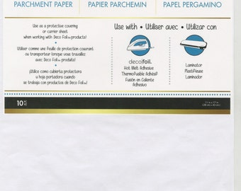 Deco Foil Parchment Paper # DF03388 - 11in x 17in 10pk