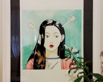 Original Illustration | Watercolour and Ink