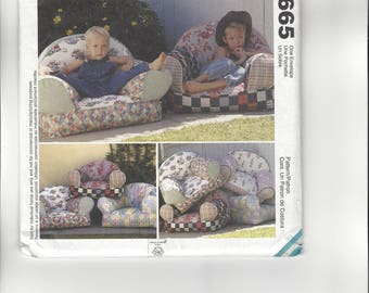 McCall's Home Decorating Pattern 9665 CUT