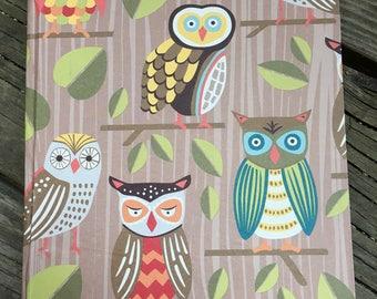 Owl Patterned Journal
