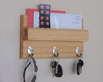 Key Rack and Mail Holder