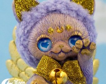 Geflügelter mondkatze   Puppe   Sweet Lolita Mode   Kawaii Kätzchen   Plüsch