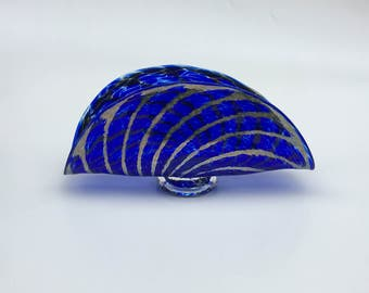 AquaticSilver Sea Fan, Cobalt,