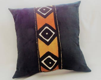 Mud Cloth Accent Pillow