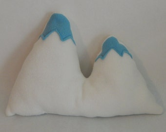 Mt. Everest Mountain Accent Pillow