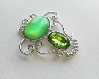 Pendant, Green Pendant, Necklace Pendant, Jewelry supplies, Pendants for Necklaces, Green Necklace Pendants, Green Jewelry Supplies