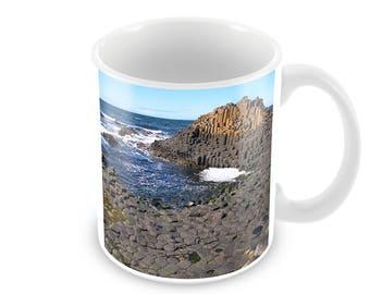 Giant's Causeway Ceramic Coffee Mug    Free Personalisation