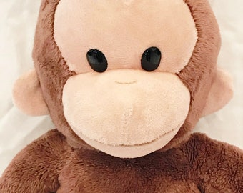 "Curious George Plush Monkey Chimp Applause Russ Berrie Kohl's 16"" Vintage"