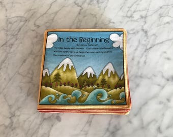 In The Beginning Fabric Book FREE SHIPPING
