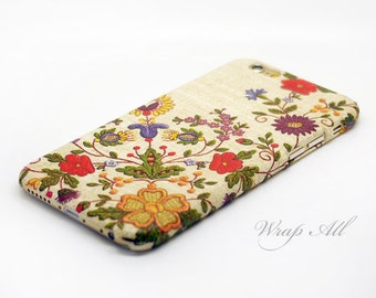 Floral Embroidery Print iPhone SE case iPhone 6S case iPhone 6 case iPhone 6S Plus case iPhone 6 Plus case
