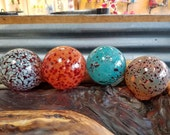 Speckled Floats, Set of F...
