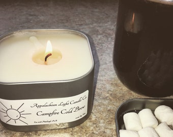 Campfire Cold Brew Candle