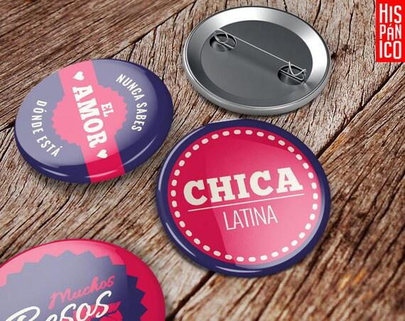6 Badges 'Guapa'