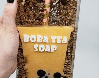 Mango Boba Tea Soap