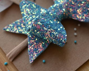 Blue Frosting Bow