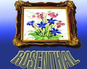 Rosenthal Hand Painted Tile Picture